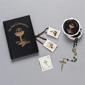 -,BOY'S FIRST COMMUNION GIFT SET