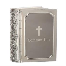 -COMMUNION BIBLE KEEPSAKE BOX