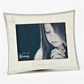 "-,3.5X5"" IVORY COMMUNION FRAME"