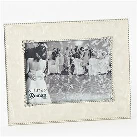 "-,3.5X5"" SMALL IVORY FRAME"