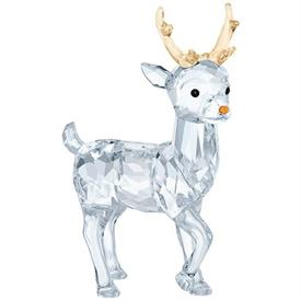 "-,SANTA'S REINDEER FIGURINE. 2.4"" TALL, 1.6"" LONG, .75"" WIDE"