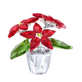 "-,SMALL POINSETTIA. 1.6"" TALL, 1.75"" WIDE"
