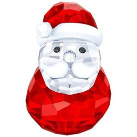 "-,ROCKING SANTA FIGURINE. 1.5"" TALL, .8"" WIDE"