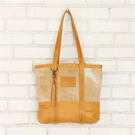 -,SERENGETI LITTLE GOLDEN BUCKET BAG. ALL BAGS WILL VARY IN HAIR COLOR