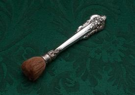 MAKE UP BRUSH STERLING HANDLE