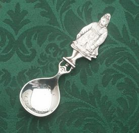 "NORWEGIAN TEA CADDY SPOON 830 SILVER 83% SILVER 1.15 TROY OUNCES 5.5"" TALL"