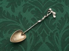 "DEMITASSE SOUVENIR SPOON STERLING SILVER 4""  INSCRIBED ""95 GRACE"""