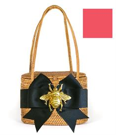 -,MANGO BOW & GOLD CRAB BAG