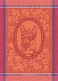 -,MADAME CHIEN ROSE KITCHEN TOWEL. 22X30""