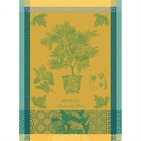 "-,MIMOSA JAUNE KITCHEN TOWEL. 22"" X 30"". 100% COTTON"