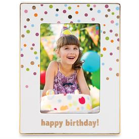 "_,4X6"" 'HAPPY BIRTHDAY' FRAME. MSRP $80.00"
