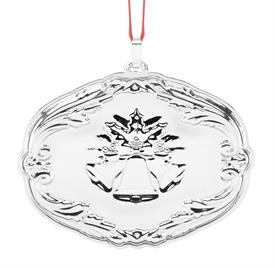 "_16TH Ed. Songs of Christmas ""Carol of the Bells"" Francis I sterling silver made by Reed & Barton in USA 2.75"" SKU#877603 MSRP $150 201"
