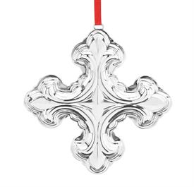 "-48th Ed.Christmas Cross Sterling Silver Ornament by Reed & Barton made in USA 3.5"" High 48th Edition SKU#877551 MSRP $125 Made in year 20"