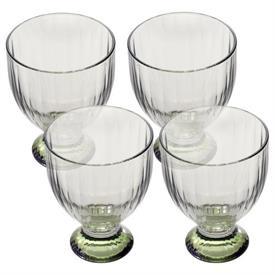 """-SET OF 4 WHITE WINE GLASSES, 4.5"""""""