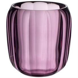 -NOBLE ROSE SMALL VASE/HURRICANE LAMP, 6""