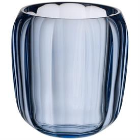 -WINTER SKY SMALL VASE/HURRICANE LAMP, 6""