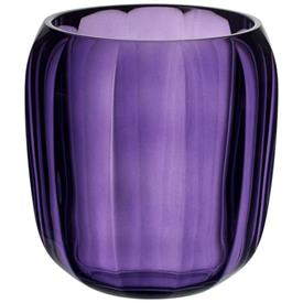 -GENTLE LILAC SMALL VASE/HURRICANE LAMP, 6""