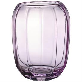 -NOBLE ROSE LARGE VASE/HURRICANE LAMP, 7""