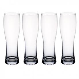-SET OF 4 WHEAT BEER PILSNER GLASSES, 9.5""