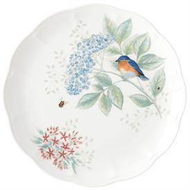 "-EASTERN BLUEBIRD DINNER PLATE. 11"" WIDE. MSRP $25.00"