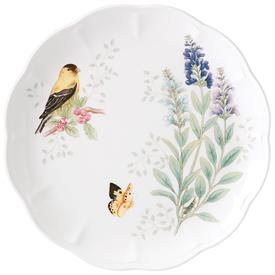 "-GOLDFINCH DINNER PLATE. 11"" WIDE. MSRP $25.00"