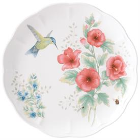 "-HUMMINGBIRD DINNER PLATE. 11"" WIDE. MSRP $25.00"