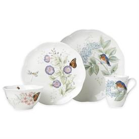 -EASTERN BLUEBIRD 4-PIECE PLACE SETTING. MSRP $72.00