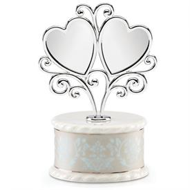 "-CAKE TOPPER. 9.5"" TALL. BREAKAGE REPLACEMENT AVAILABLE. MSRP $67.00"
