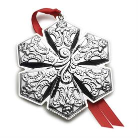 _21ST ED. Snowflake Grande Baroque Snowflake Sterling Silver Ornament made by Wallace in USA 21st Edition MSRP $225 UPC#730936070319
