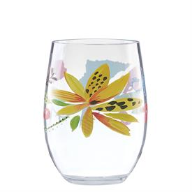 -ACRYLIC STEMLESS WINE GLASS