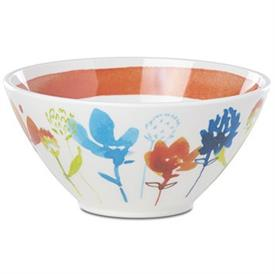 -SMALL ORANGE BOWL, MELAMINE