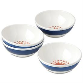 -SET OF 4 DESSERT BOWLS, MELAMINE