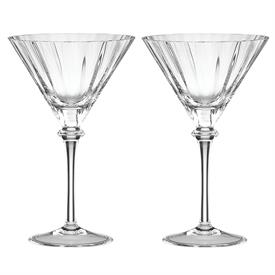 -PAIR OF MARTINI GLASSES
