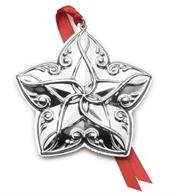 _22ND ED. Star Ornament Sterling Silver 22nd Edition year 2018 made by Towle in USA MSRP $225 UPC#04422804333