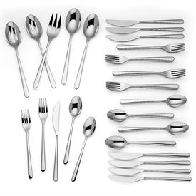 -45 PIECE SET. INCLUDES EIGHT 5 PIECE PLACE SETTINGS & 5 SERVERS.