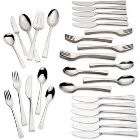 -65 PIECE SET. INCLUDES 12 FIVE PIECE PLACE SETTINGS & 5 SERVERS. MSRP $340.00