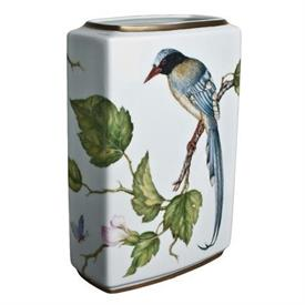 "-7.5"" RECTANGULAR BIRD VASE"