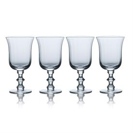 -SET OF 4 WATER GOBLETS