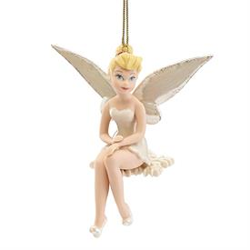 """-2018 TINKER BELL ORNAMENT. 'SNOWFLAKE TINKER BELL'. 4.5"""" TALL. MSRP $60.00"""