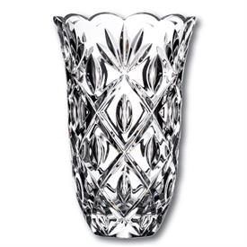 "_,SARA VASE 10"" WATERFORD CRYSTAL"