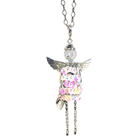 -,'HEALTH' ANGEL PENDANT/KEYCHAIN.
