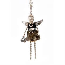 -,'SISTER' ANGEL PENDANT/KEYCHAIN