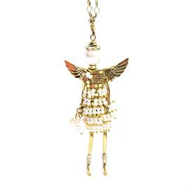 -,'CAREGIVER' ANGEL PENDANT/KEYCHAIN