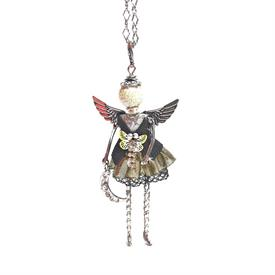 -,'MIRACLES' ANGEL PENDANT/KEYCHAIN