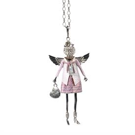 -,'DAUGHTER' ANGEL PENDANT/KEYCHAIN