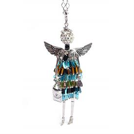 -,'HAPPINESS' ANGEL PENDANT/KEYCHAIN
