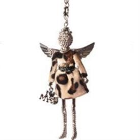 -,'LOVE MY CAT' ANGEL PENDANT/KEYCHAIN