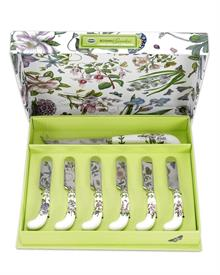 -CHEESE KNIFE & 6 SPREADERS