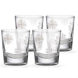 -SET OF 4 DOUBLE OLD FASHIONED GLASSES. MSRP $58.00