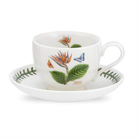 -BIRD OF PARADISE TEA CUP & SAUCER